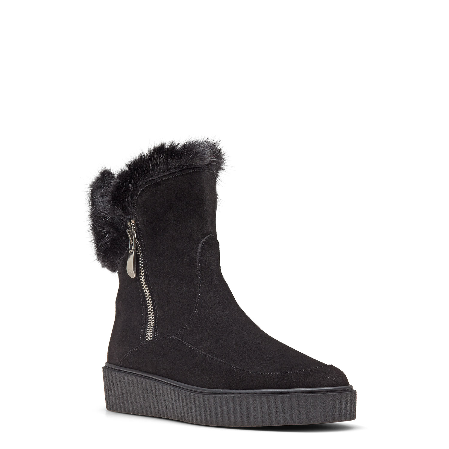 Women's fur-lined ankle boots CARLO PAZOLINI CR-VOE3-1