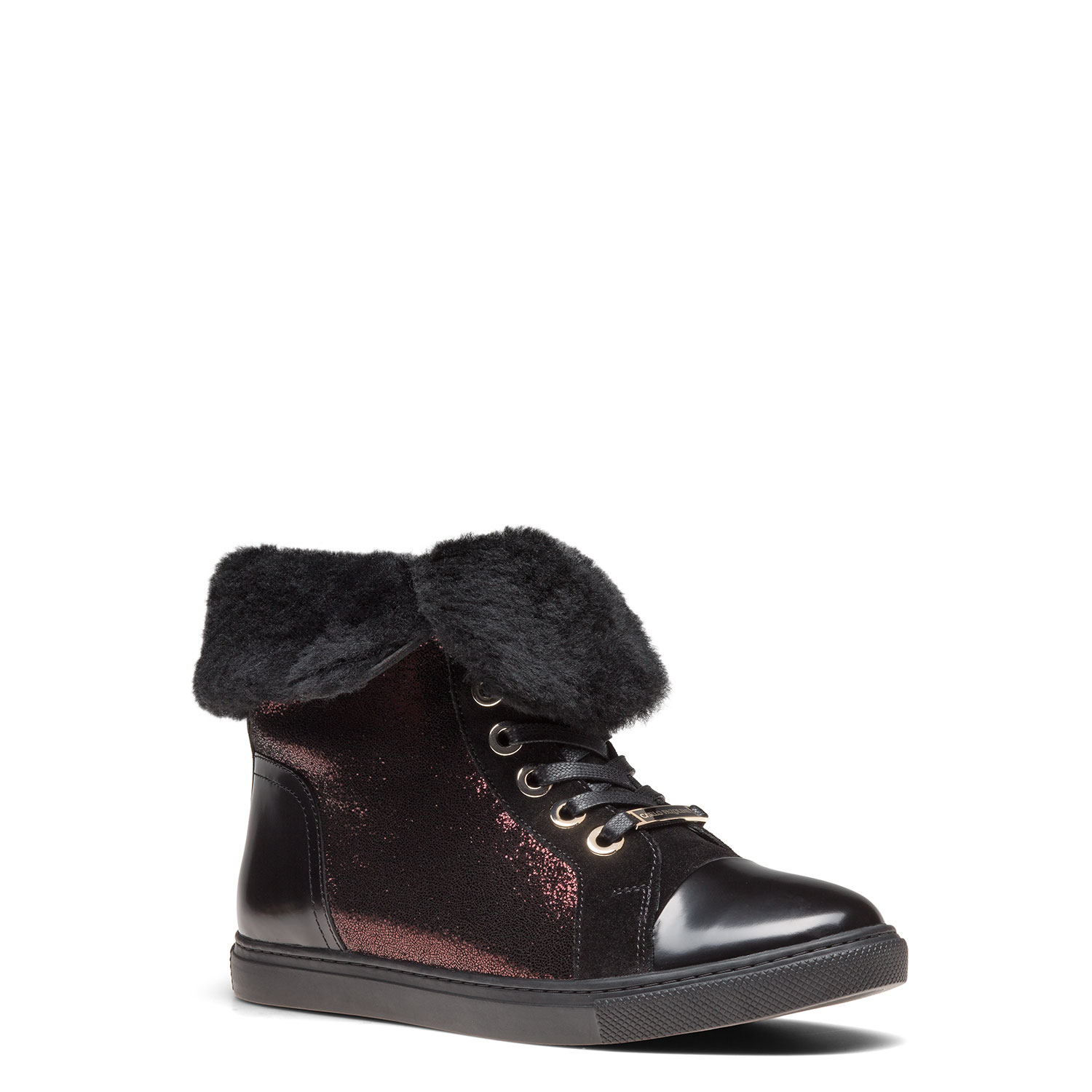 Women's fur-lined ankle boots CARLO PAZOLINI FG-YNK9-11