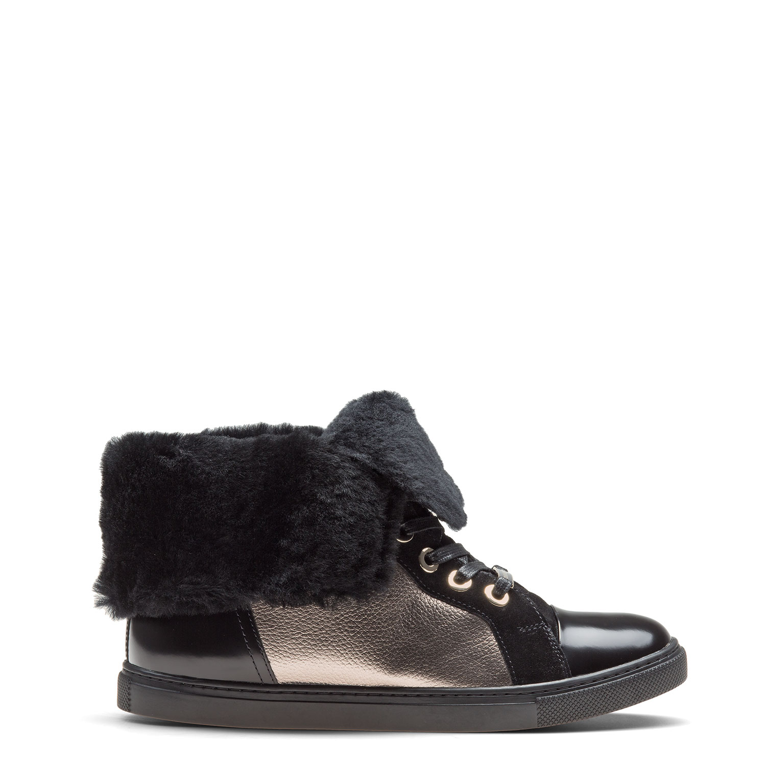 Women's fur-lined ankle boots CARLO PAZOLINI FG-YNK9-8