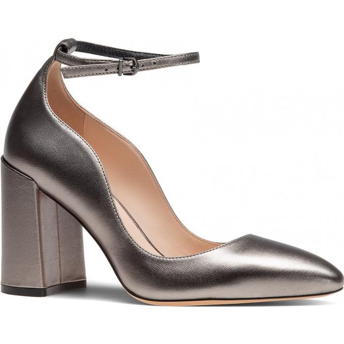 ТУФЛИ босоножки на каблуке с ремешком вокруг щиколотки giselle