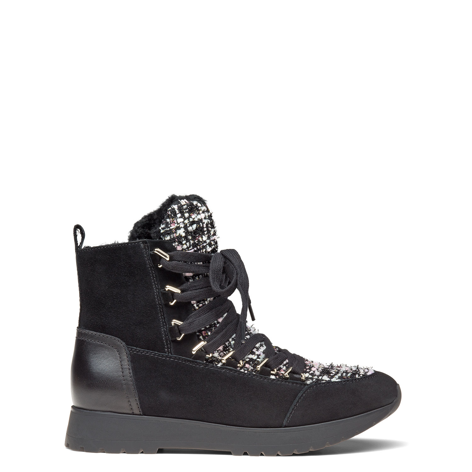 Women's fur-lined ankle boots CARLO PAZOLINI JH-ENR3-20