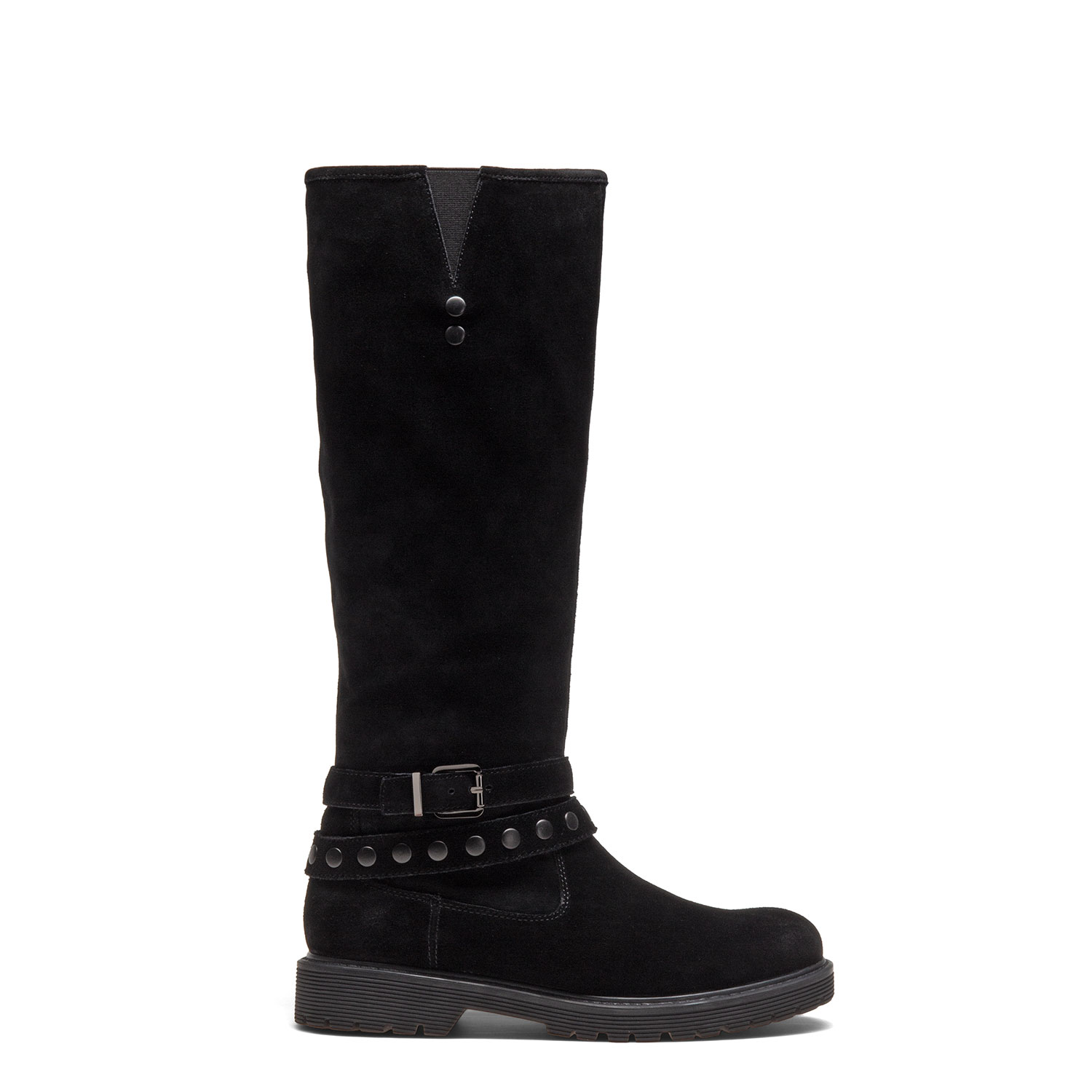 Women's fur-lined mid-calf boots PAZOLINI JH-ERC22-1F
