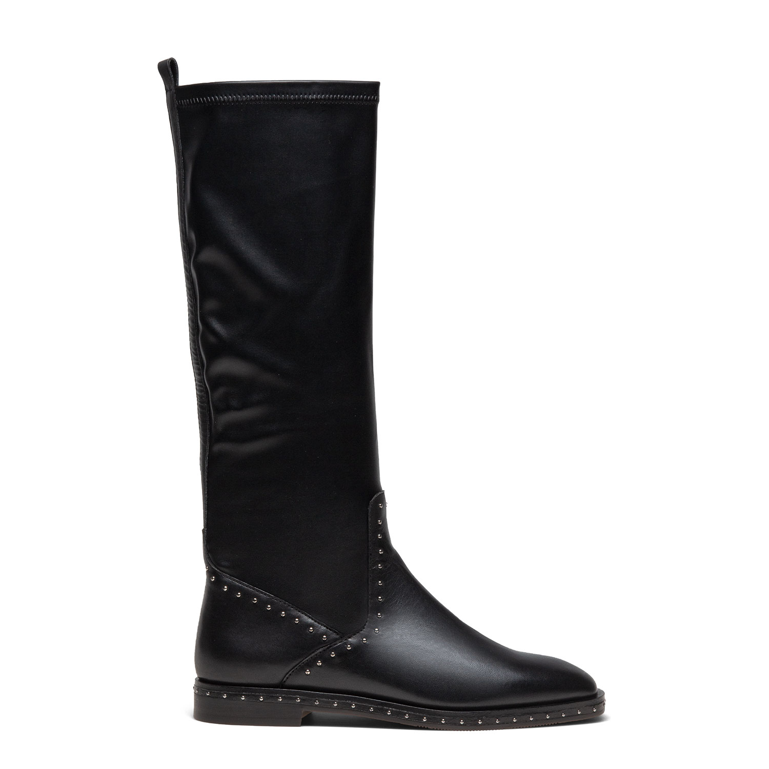 Women's fur-lined mid-calf boots PAZOLINI JH-TAM4-1