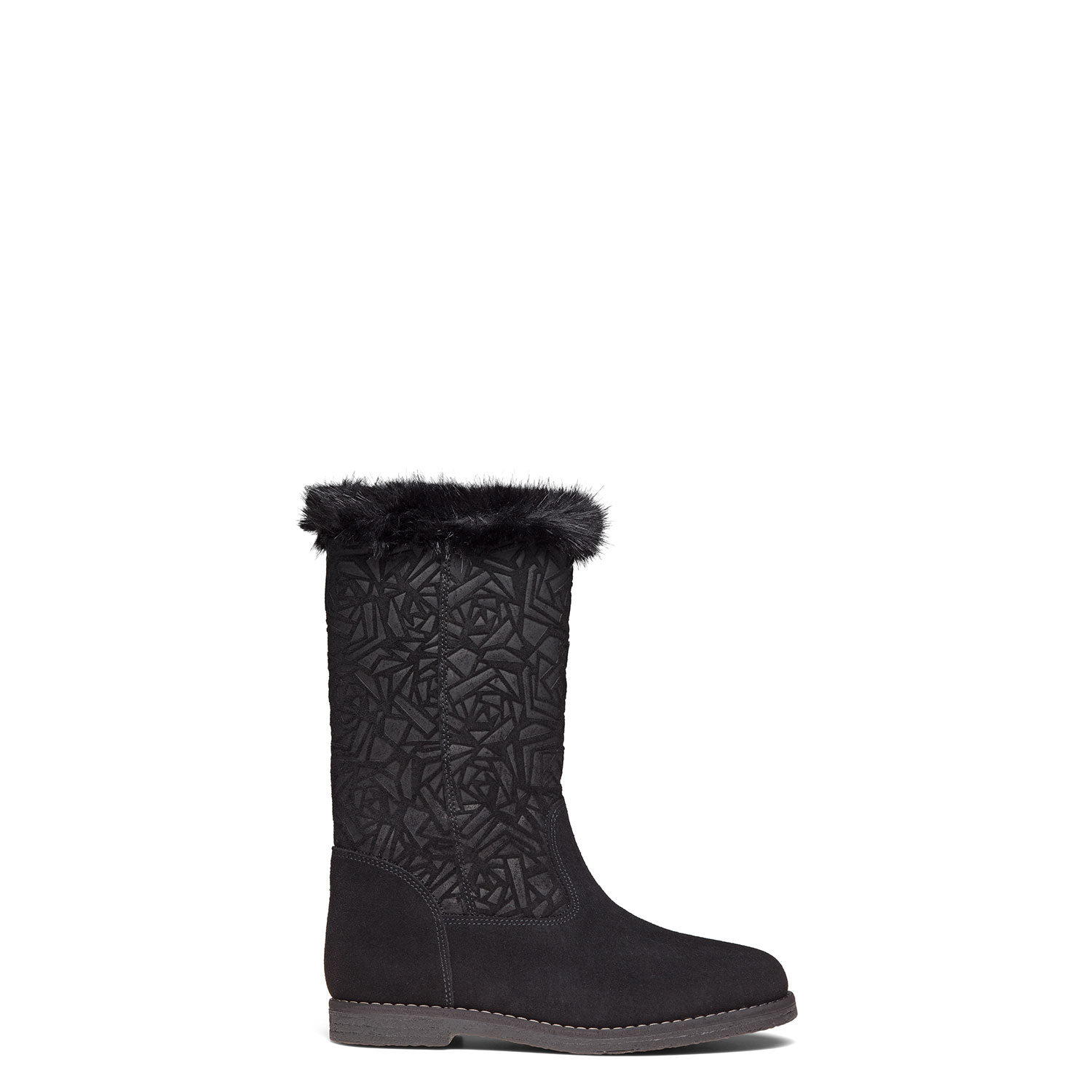 Women's fur-lined mid-calf boots CARLO PAZOLINI SW-SNW4-1