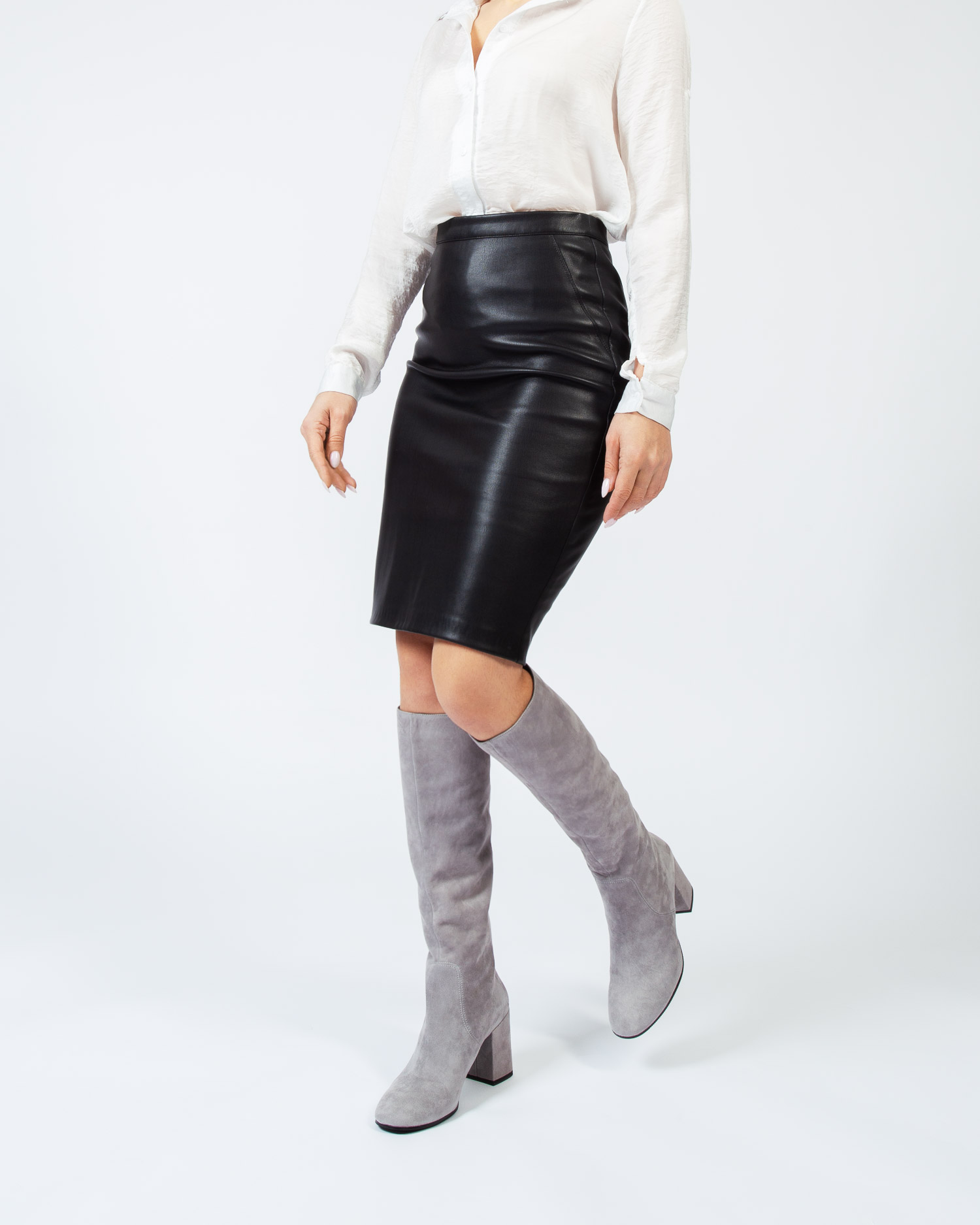 Women's fur-lined mid-calf boots PAZOLINI WN-IVV7-10